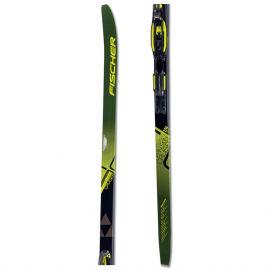 Fischer TWIN SKIN CRUISER EF + TOUR STEP-IN IFP - Běžecké lyže na klasiku s podporou stoupání