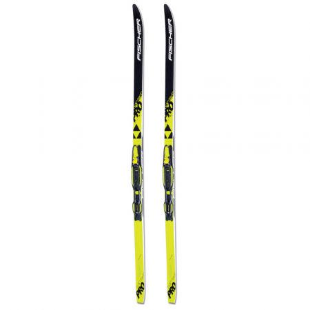 Běžecké lyže - Fischer SET SKIN PRO JR + TOUR-IN JR - 2