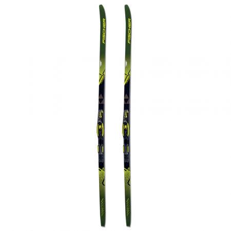 Běžecké lyže na klasiku s podporou stoupání - Fischer TWIN SKIN CRUISER EF + TOUR STEP-IN IFP - 2