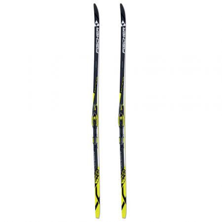 Běžecké lyže na klasiku s hladkou skluznicí - Fischer SUPREME WAX + CONTROL STEP IN IFP - 2