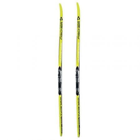 Běžecké lyže na klasiku s hladkou skluznicí - Fischer CRS CLASSIC NIS + RACE CLASSIC - 2