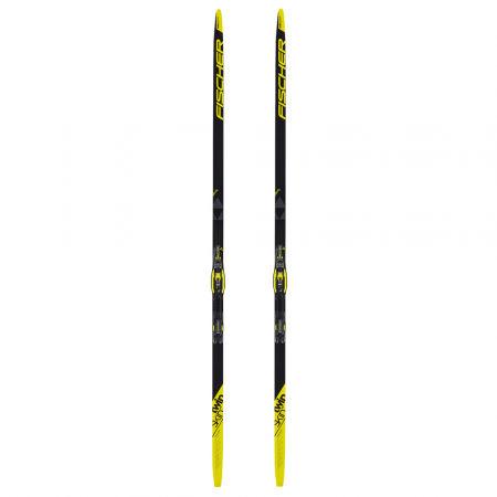 Běžecké lyže na klasiku se stoupacími pásy - Fischer TWIN SKIN PRO STIFF + CONTROL IFP - 2