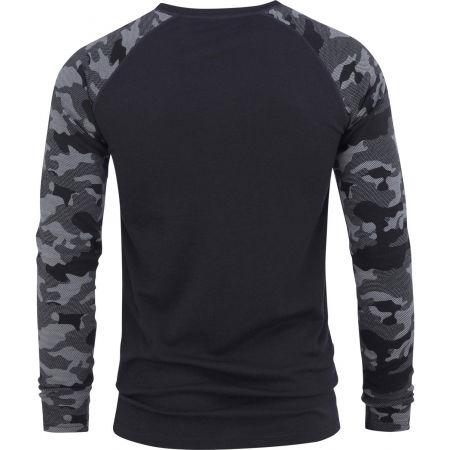 Pánské triko - Bula CAMO MERINO WOOL CREW - 2