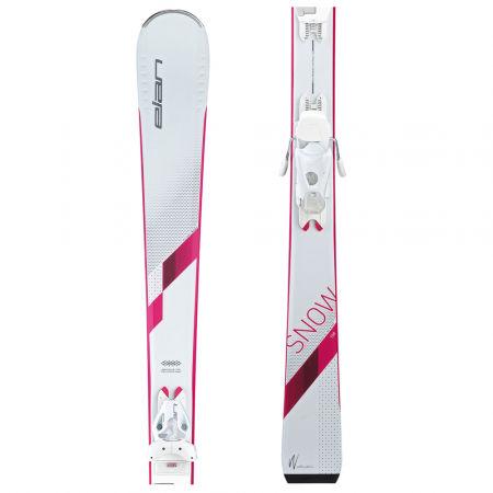 Elan SNOW LS + EL 7.5 WHI - Dámské sjezdové lyže
