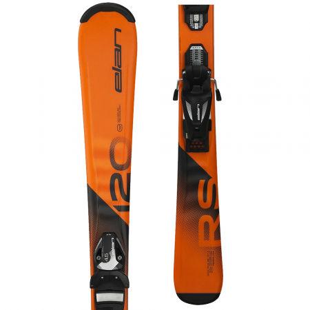 Juniorské sjezdové lyže - Elan RS RIPSTICK QS + EL 7.5 - 1