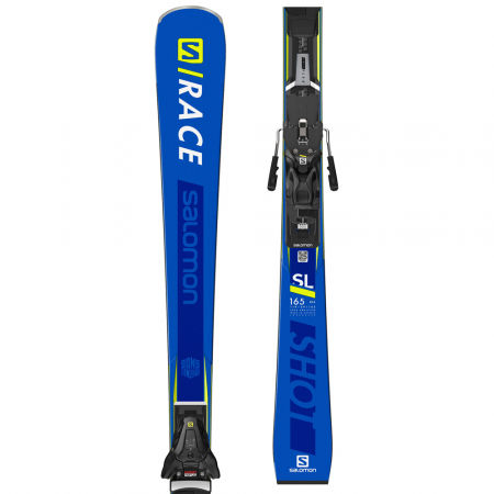 Unisex sjezdové lyže - Salomon S/RACE SHOT SL + X12TL - 1