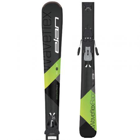 Elan WAVEFLEX RACE LS + EL10 - Pánské sjezdové lyže