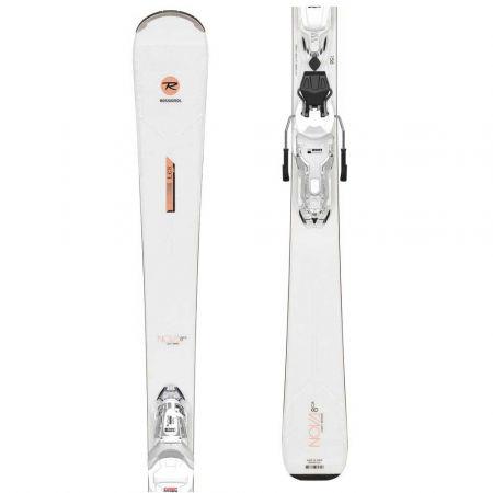 Rossignol NOVA 8 CA XPRESS + XPRESS W 11 GW B83 WHT/SPKL - Dámské sjezdové lyže