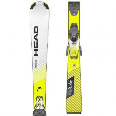 Head SUPERSHAPE SLR PRO+SLR 7.5 GW AC - Juniorské sjezdové lyže