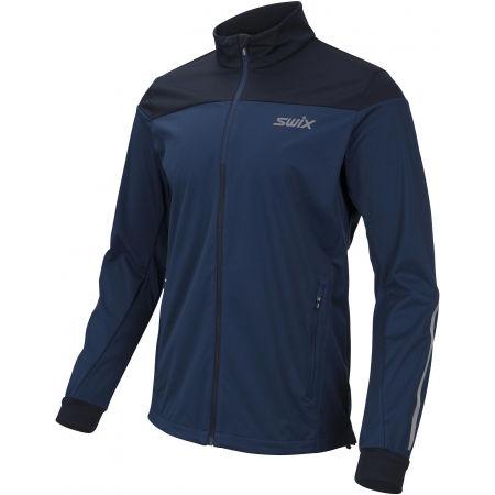 Swix CROSS M - Pánská sportovní softsehllová bunda