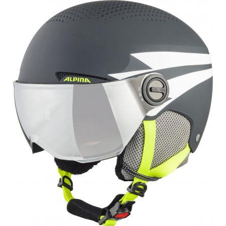 Alpina Sports ZUPO VISOR - Dětská lyžařská helma