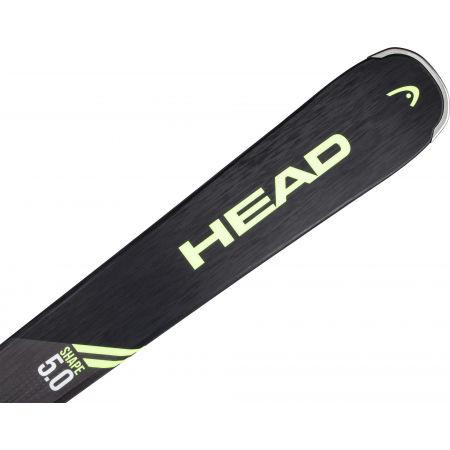 Sjezdové lyže - Head SHAPE 5.0 PP9+SX 10 GW PROMO - 5