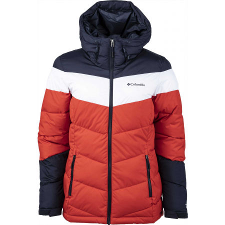 Columbia ABBOTT PEAK INSULATED JACKET - Dámská zateplená lyžařská bunda