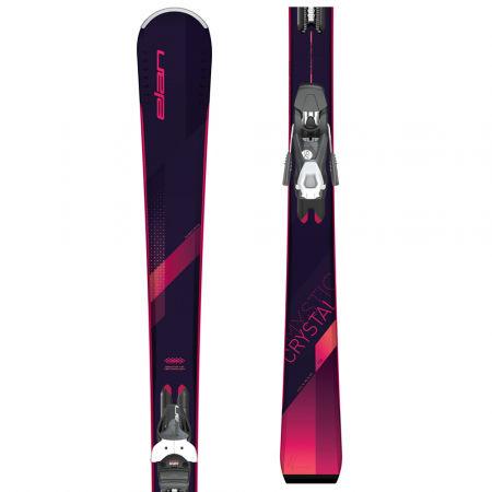 Elan CRYSTAL LS+EL 7.5 - Dámské sjezdové lyže