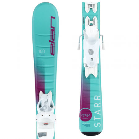 Elan STARR QS+EL 7.5 - Dětské sjezdové lyže