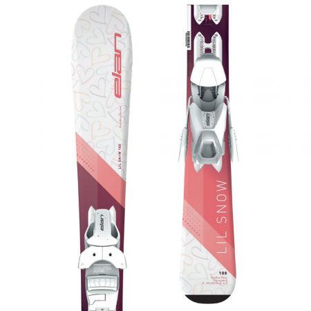 Elan LIL SNOW W QS+EL 4.5 - Dětské sjezdové lyže