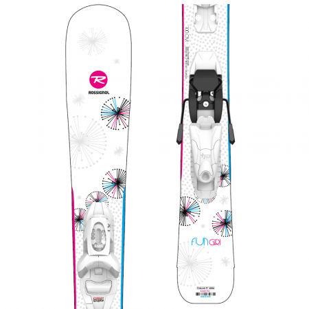 Rossignol FUN GIRL KID + KID 4 GW - Dívčí sjezdové lyže