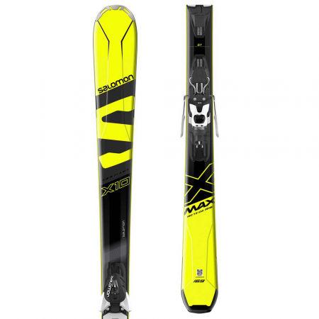 Sjezdové lyže - Salomon E X-MAX X10 + MERCURY 11 - 1