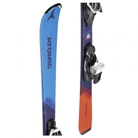 Juniorské sjezdové lyže - Atomic VANTAGE JR 130-150 + C 5 GW - 1