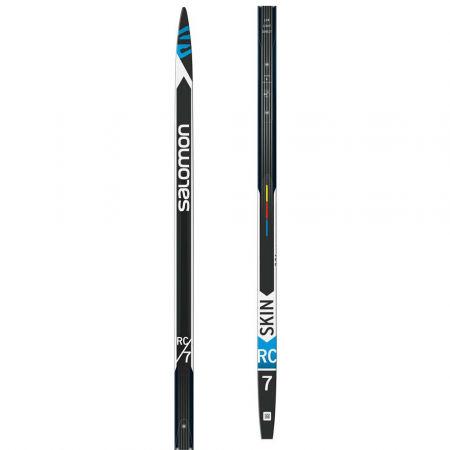 Klasické bežecké lyže s podporou stoupání - Salomon RC 7 SKIN HARD - 1
