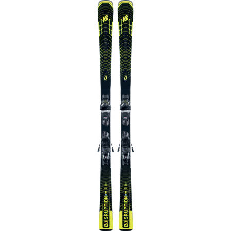 Pánské allmountain lyže s vázáním - K2 DISRUPTION SC + M3 11 COMPACT Q - 2
