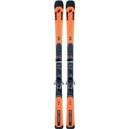 Pánské allmountain lyže s vázáním - K2 DISRUPTION 78C + M3 11 COMPACT Q - 2