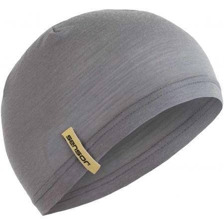 Sensor MERINO UNDER - Zimní čepice