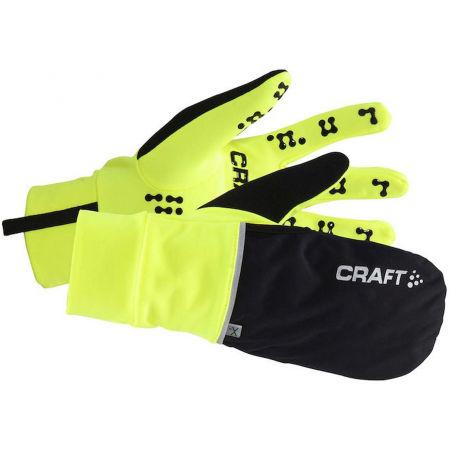 Craft HYBRID WEATHER - Kombinované rukavice 2 v 1