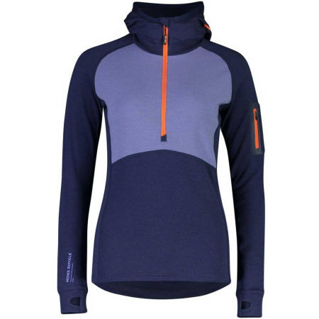 MONS ROYALE ASCEND MIDI HALF ZIP