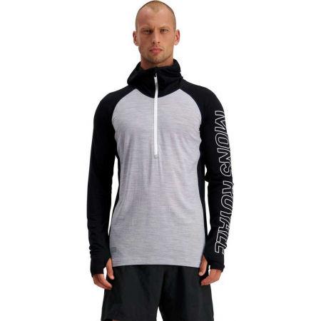 Pánské funkční triko z merino vlny - MONS ROYALE TEMPLE TECH - 4