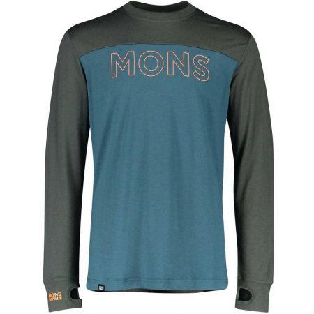 MONS ROYALE YOTEI TECH LS - Pánské triko z merino vlny