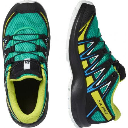 Dětská outdoorová obuv - Salomon XA PRO 3D J - 4