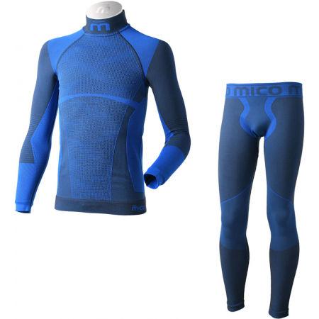 Mico KIDS SHIRT + TIGHT PANTS WARM - Bezešvé funkční spodní prádlo