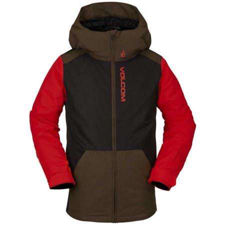 Volcom VERNON INS - Zateplená dětská zimní bunda