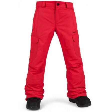 Volcom CARGO INS - Dětské zateplené snowboardové kalhoty