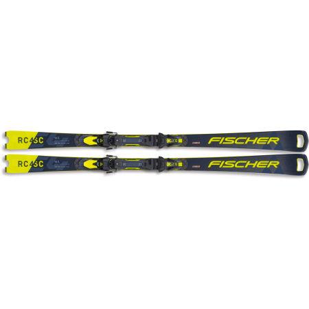 Sjezdové lyže - Fischer RC4 WC SC FIS+Z12 - 2