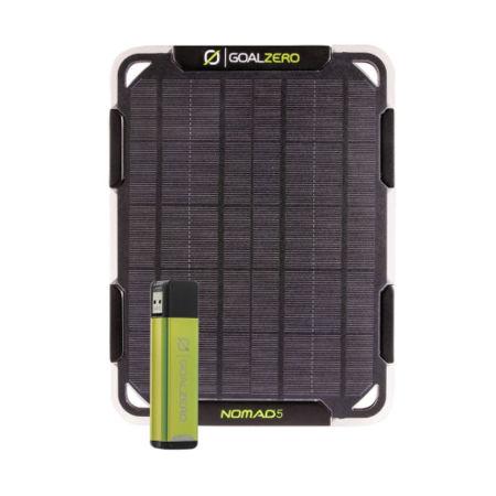 Goal Zero SET FLIP 12 + NOMAD 5 - Solární panel s power bankou