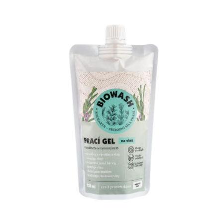 Bio Wash Prací gel na vlnu s rozmarýnem a lanolínem 250 ml - Prací gel