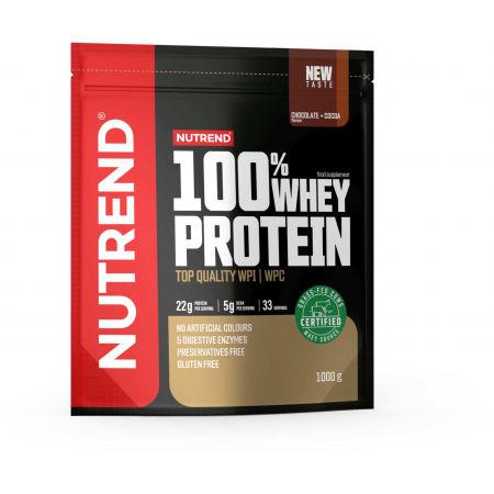 Nutrend 100% WHEY PROTEIN 1000 g ČOKOLÁDA + KAKAO - Protein