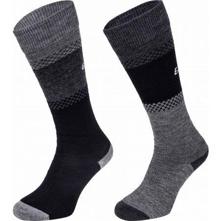Eisbär SKI COMFORT 2 PACK - Dámské zateplené ponožky