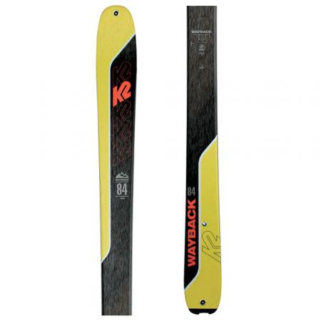 Pánské skialpové lyže - K2 WAYBACK 84 - 1