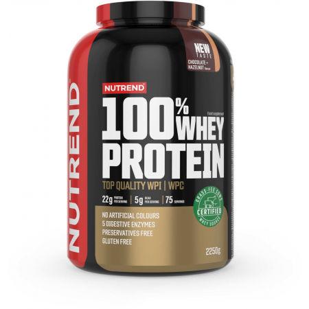 Nutrend 100% WHEY PROTEIN 2250 g ČOKOLÁDA-LÍSKOVÝ OŘECH - Protein