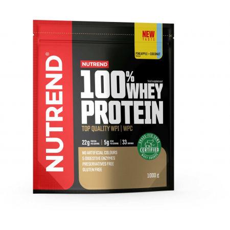 Nutrend 100% WHEY PROTEIN 1000 g ANANAS-KOKOS - Protein