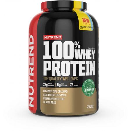 Protein - Nutrend 100% WHEY PROTEIN 2250 g ANANAS-KOKOS