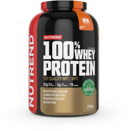 Protein - Nutrend 100% WHEY PROTEIN 2250 g POMERANČ