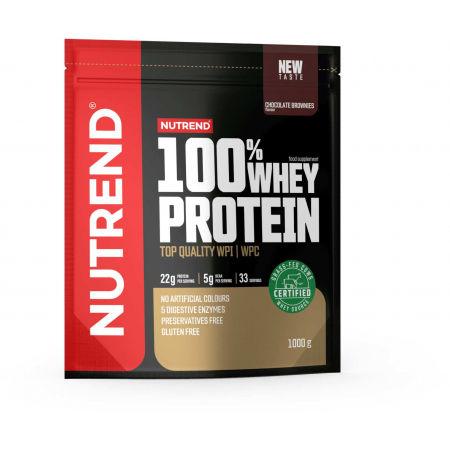 Nutrend 100% WHEY PROTEIN 1000 g ČOKOLÁDOVÉ BROWNIES - Protein