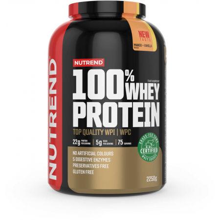 Protein - Nutrend 100% WHEY PROTEIN 2250 g MANGO-VANILKA
