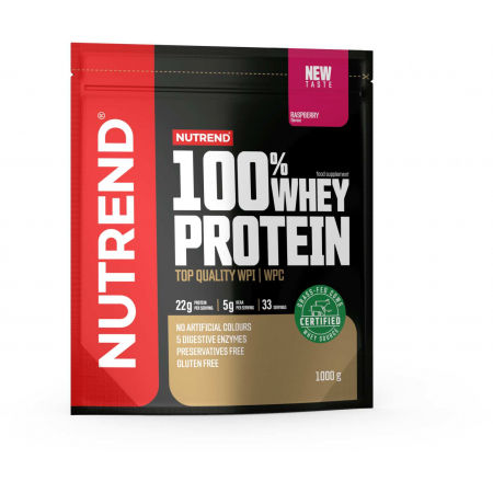 Nutrend 100% WHEY PROTEIN 1000 g MALINA - Protein