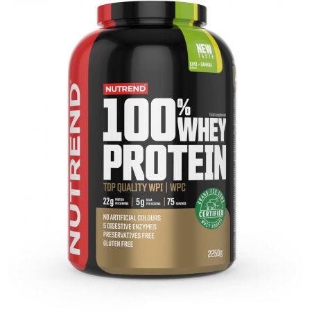 Nutrend 100% WHEY PROTEIN 2250 g KIWI-BANÁN - Protein
