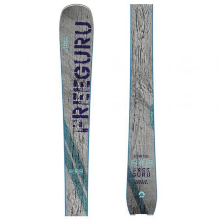 Skialpové lyže se stoupacím pásem - Sporten FREE GURU + STOUPACÍ PÁS FREE GURU - 2